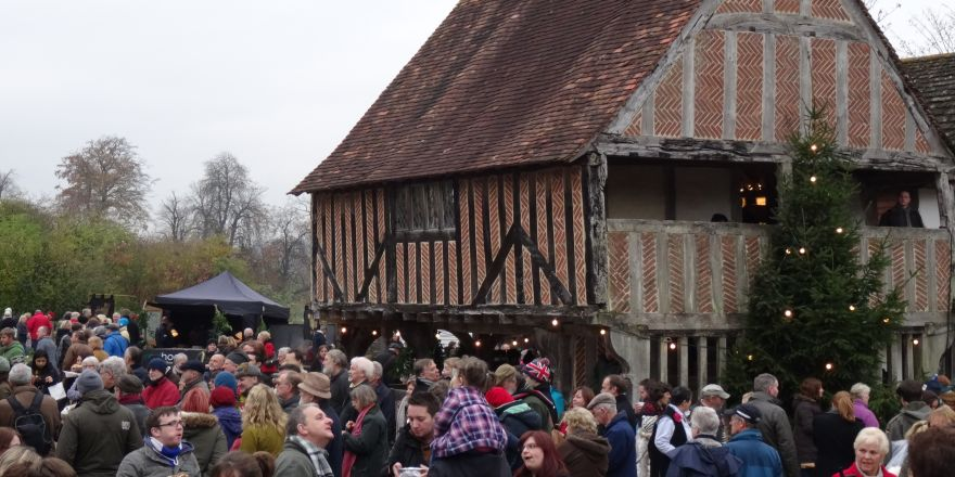 Christmas Market at Weald and Downland Museum