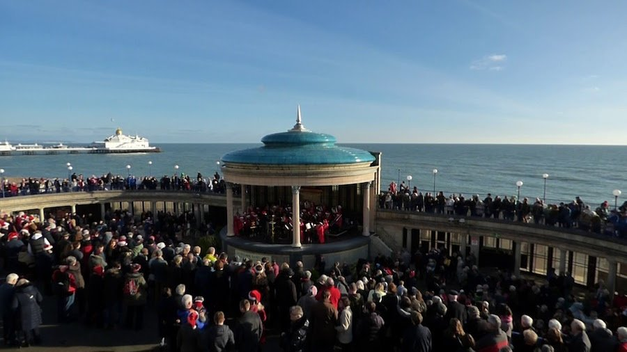 Boxing Day Concert at Eastbourne Bandstand