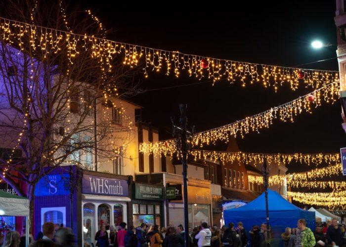 Littlehampton Christmas Lights Switch On