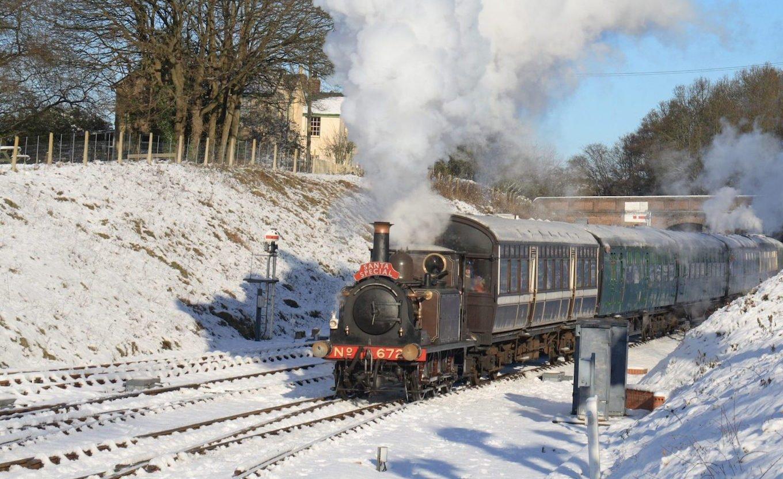 Santa Specials on Bluebell Railway