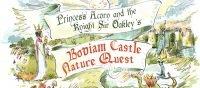 Children's Princess and Knight Nature Trail at Bodiam Castle