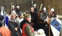 Combat at Arundel Castle