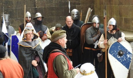 Combat at Arundel Castle