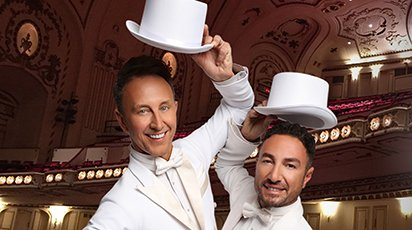 Ian Waite and Vincent Simone… Act Two at The Hawth