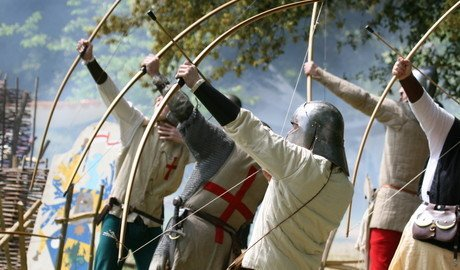 Living History Day in July at Arundel Castle