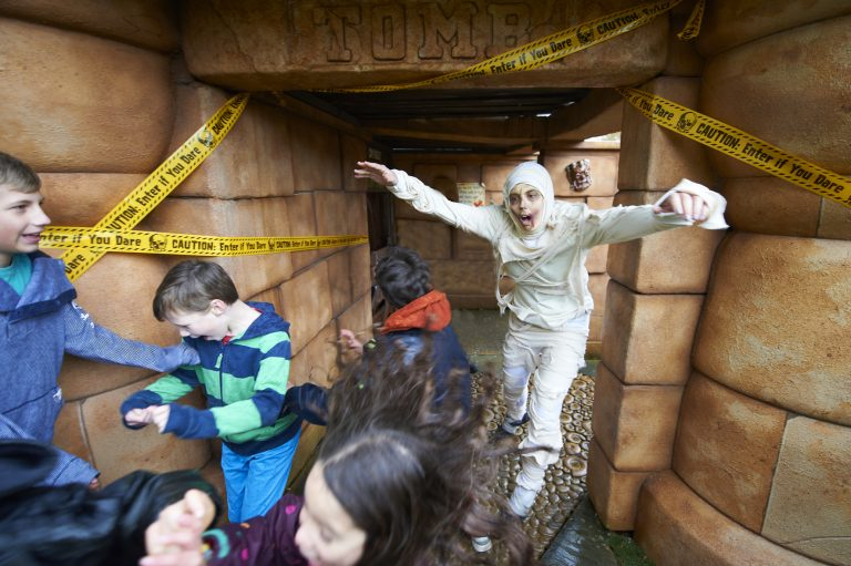 Meet The Mummy at Drusillas Park