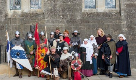 Norman Knights at Arundel Castle