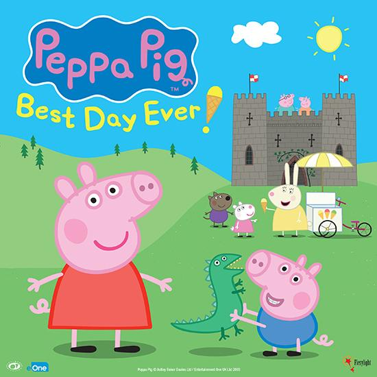 Peppa Pig's Best Day Ever at Devonshire Park Theatre