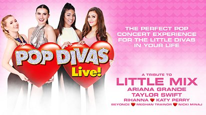 Pop Divas Live! at The Hawth