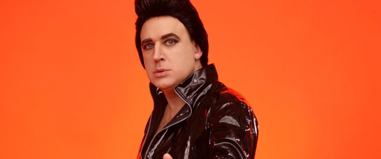 Tim Vine is Plastic Elvis at White Rock Theatre