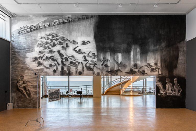 Marc Bauer's Mal Être / Performance at De La Warr Pavilion