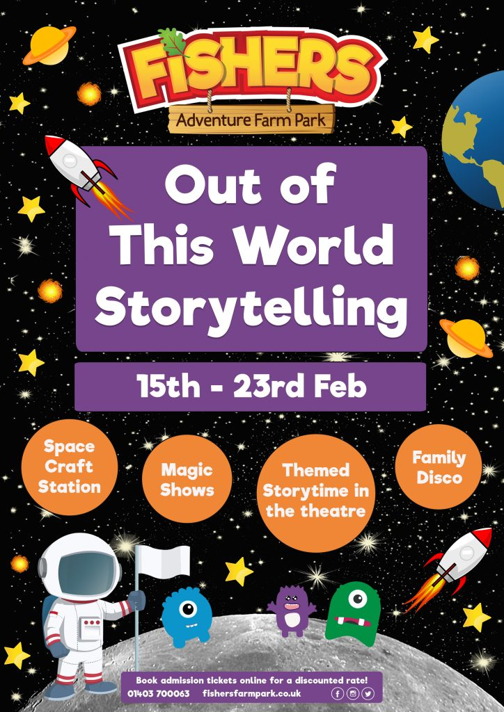Out of This World Storytelling At Fishers Farm Park