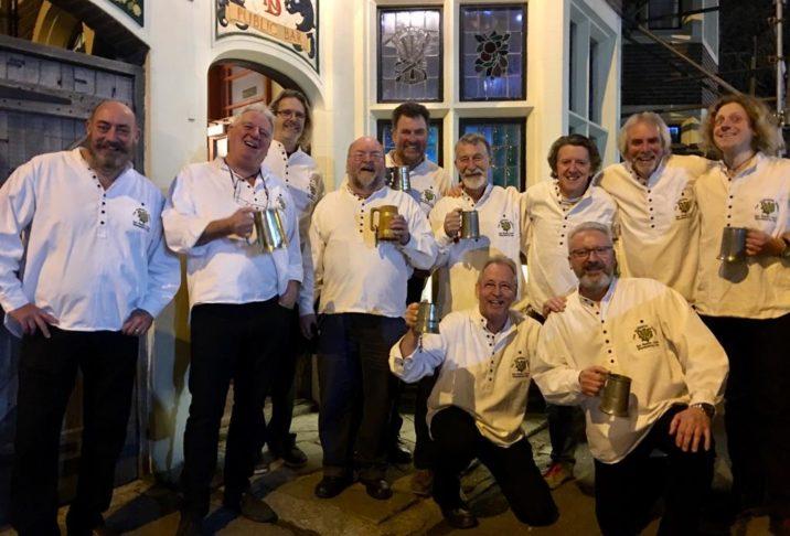 The Wellington Wailers Sea Shanty Crew