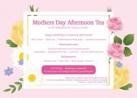 Mother's Day Afternoon Tea at Aldingbourne Country Centre
