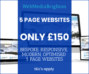 WebMediaBrighton Low Cost Websites 300250