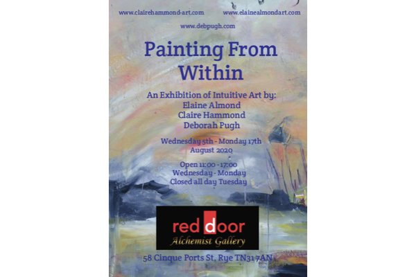 Painting From Within Exhibition at Red Door Gallery