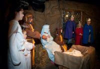 Interactive Nativity at Fishers Farm Park