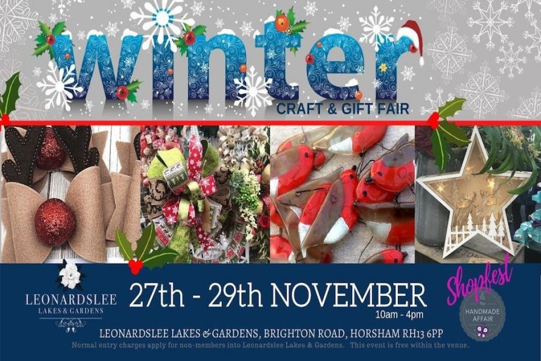 Winter Craft Gift Fair at Leonardslee Lakes and Gardens 2020