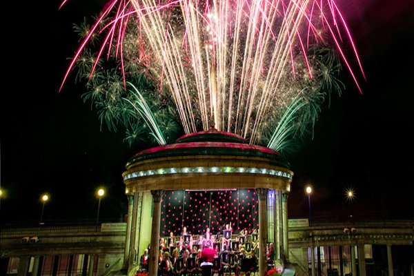 1812 Fireworks and Proms Concerts at Eastbourne Bandstand