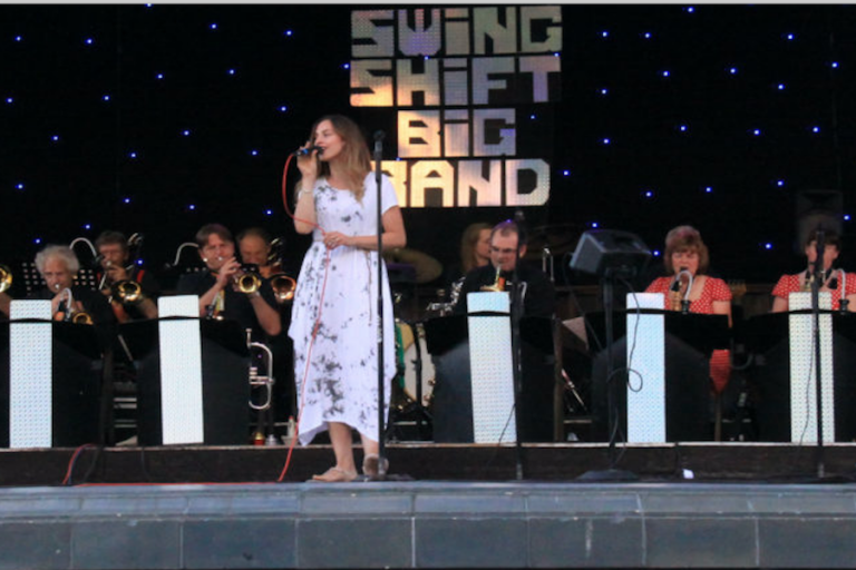 The Swingshift Big Band at Eastbourne Bandstand