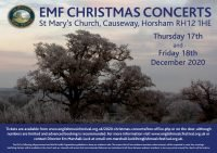 English Music Festival Christmas Concerts