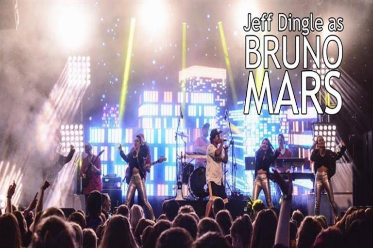 Bruno Mars Tribute Show at Eastbourne Bandstand