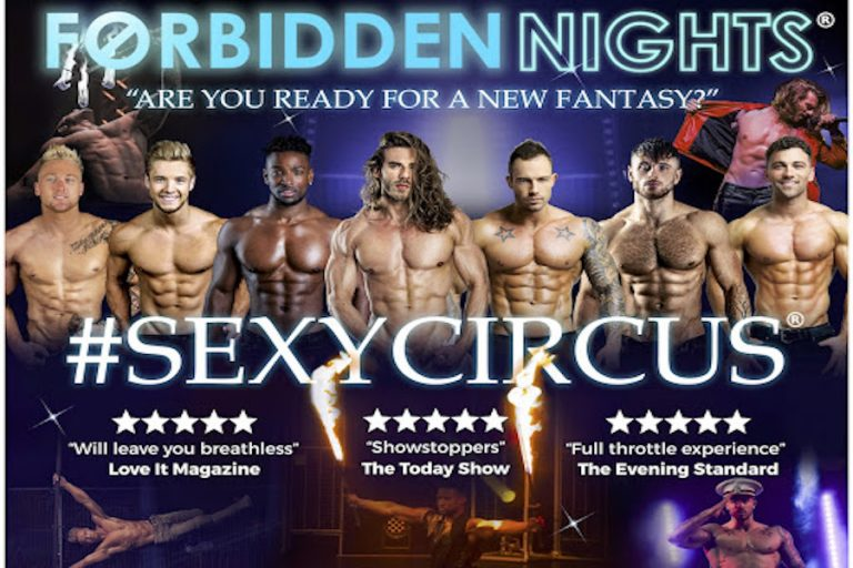 Forbidden Nights at Chequer Mead Theatre
