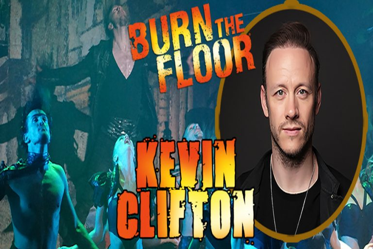 Kevin Clifton-Burn The Floor at White Rock Theatre