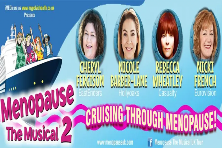 Menopause The Musical 2 at White Rock Theatre in Hastings