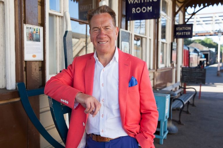 Michael Portillo at Chequer Mead Theatre