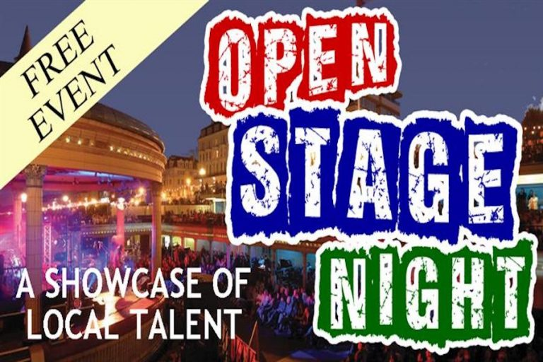 Open Stage Nights at Eastbourne Bandstand