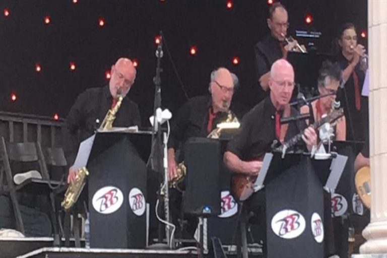 The Brighton Big Band at Eastbourne Bandstand
