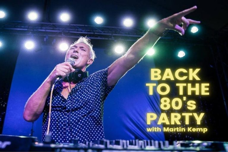 Back To The 80s Party With Martin Kemp at Assembly Hall