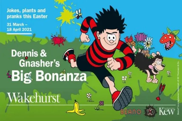 Dennis and Gnashers Big Bonanza at Wakehurst
