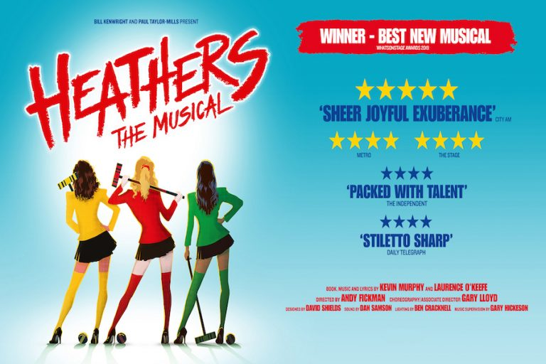 Heathers The Musical at Theatre Royal