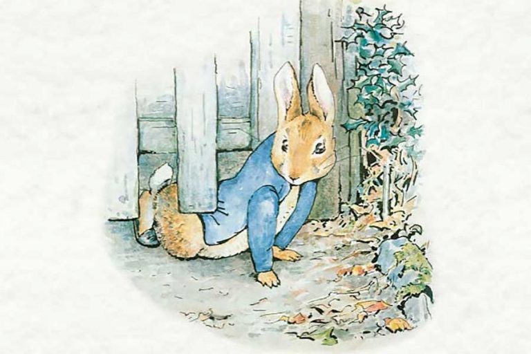 Peter Rabbit and Benjamin Bunny at Weald and Downland Museum