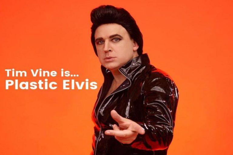 Tim Vine Is Plastic Elvis at Pavilion Theatre