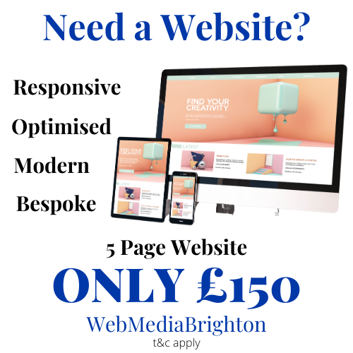 Web Media Brighton Ad
