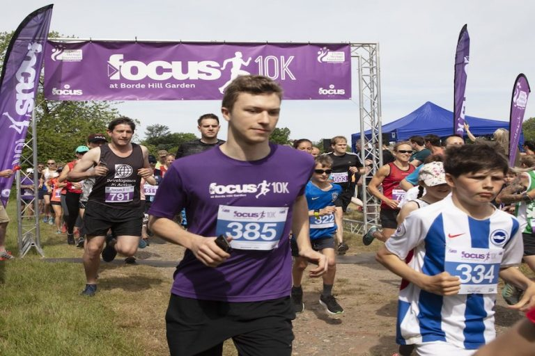 10k Run for Chailey Heritage Foundation at Borde Hill Garden