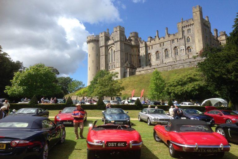 Jaguar Enthusiasts Club at Arundel Castle