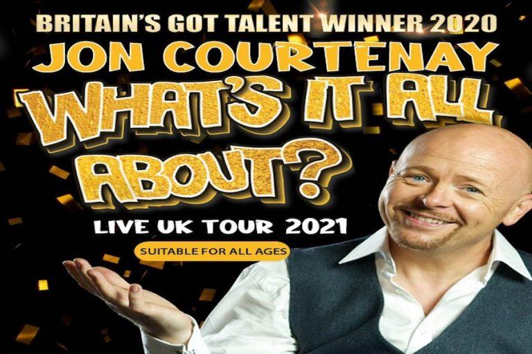 Jon Courtenay at Royal Hippodrome Theatre