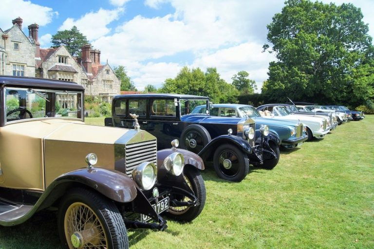 Rolls-Royce and Bentley Day at Borde Hill Garden