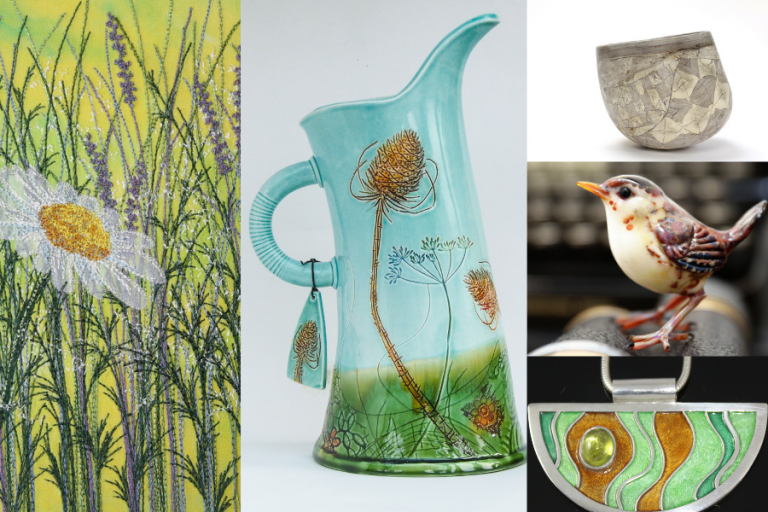 The Sussex Guild Contemporary Craft Show at Borde Hill Garden