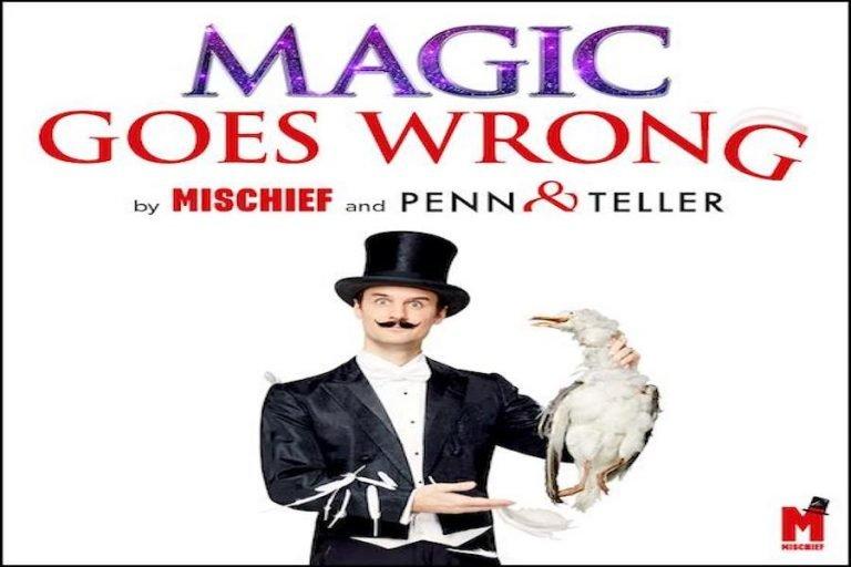 Magic Goes Wrong at Congress Theatre