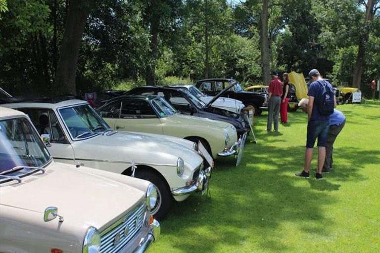 Classic Vehicle Show at Michelham Priory