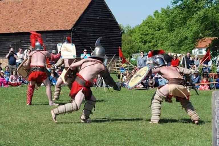 Gladiators! at Fishbourne Roman Palace