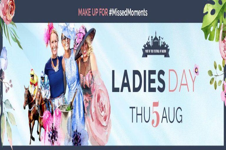 Ladies Day at Brighton Racecourse