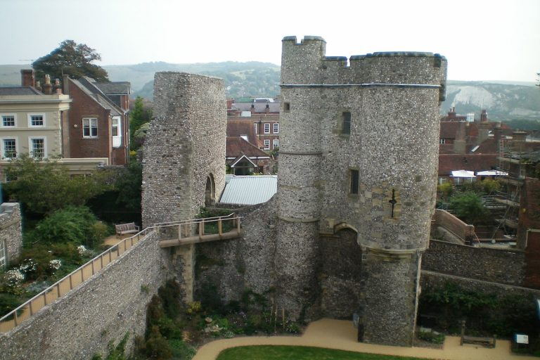 Digging for Treasure at Lewes Castle