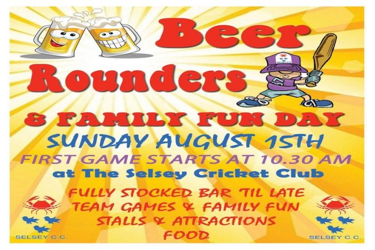 Selsey Beer Rounders and Family Day