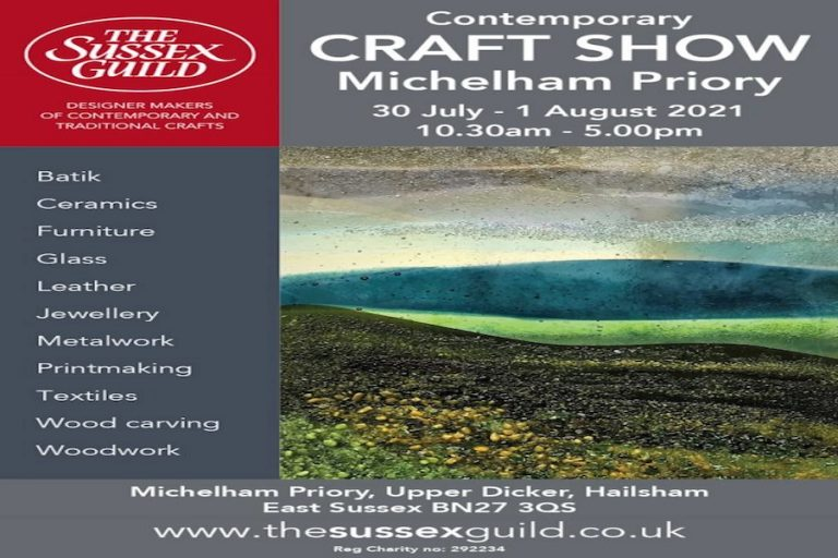 The Sussex Guild Contemporary Craft Show at Michelham Priory